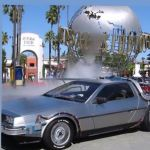BTTF Car DeLorean Time Machine